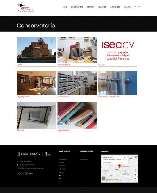 Conservatorio – Conservatori Superior de Dansa de València